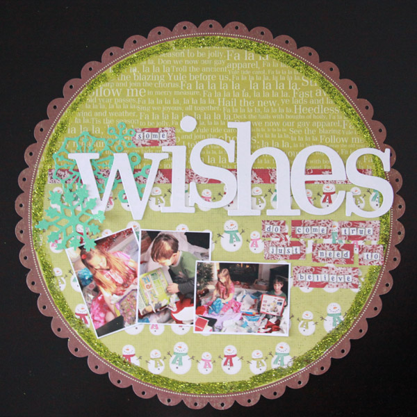 Wishes layout
